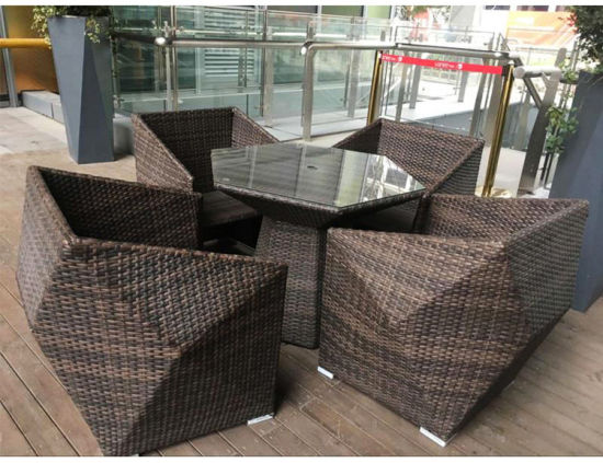 China Hot Selling Outdoor Rattan Furniture Set