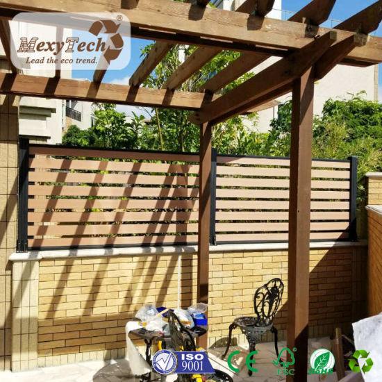 China Designed Outdoor Customized WPC Wood Pergola for Garden