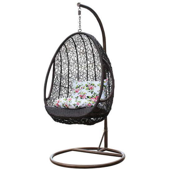 China Renel Home Garden Cozy Gantung Egg Egg Chair for Indoor Outdoor
