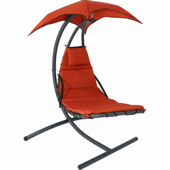 China Garden New Style Customized Hanging Chaise Lounger