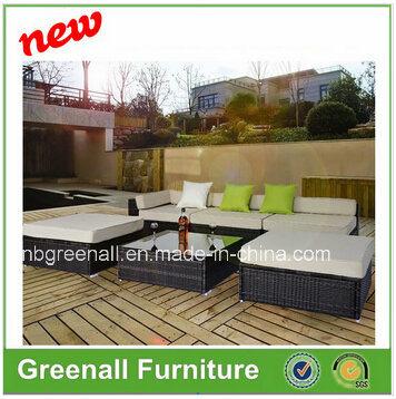 China Mix Brown Rattan Outdoor Garden Modern Home Corner Sofa Furniture