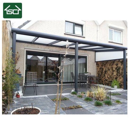 China Sturdy Aluminium Polycarbonate Patio Roof Balcony Canopy