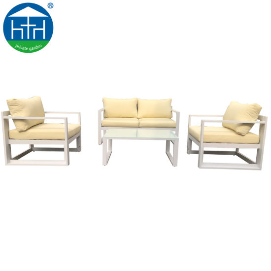 China 2019 Hot Sell Modern Hotel Customized Leisure Outdoor Garden Sectional Sofa