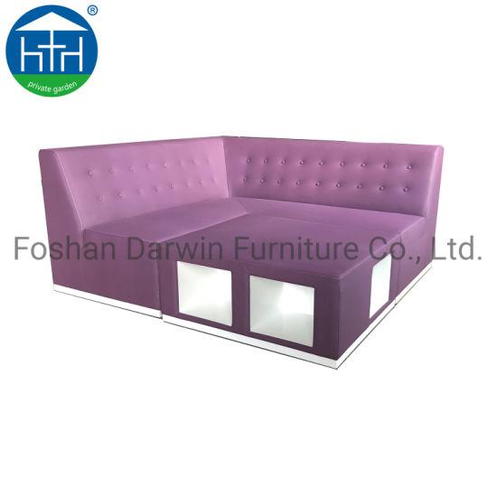 China Boutique Hotel Luxury Sofa Set Nice Fabric Terrace Patio Furniture BrNew