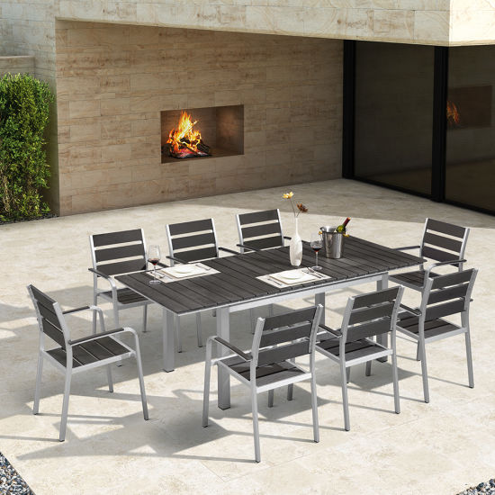 China Patio Aluminum Table Chair Garden Outdoor Dining Set Furniture