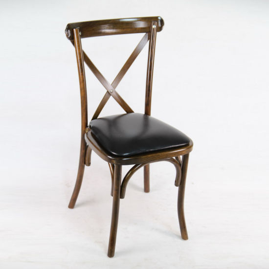 China Black Cross Back Dining Chair