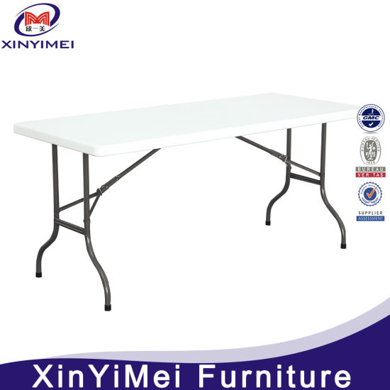 China Manufacture Wholesale Outdoor Folding Plastic Table