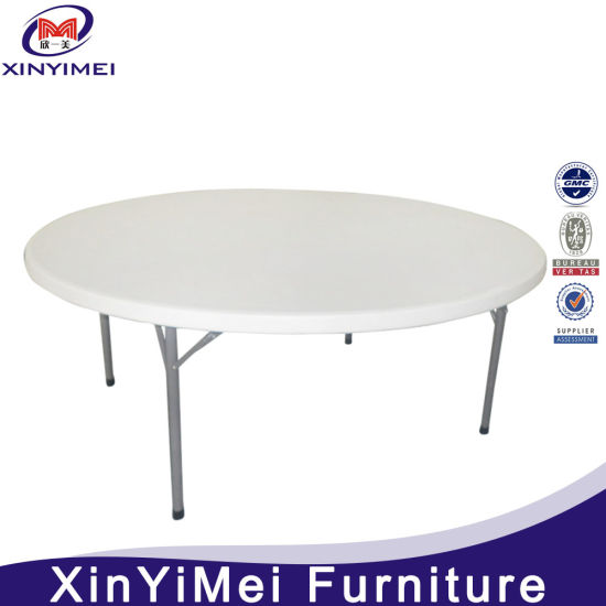 China Wholesale HDPE Outdoor Plastic Folding Table