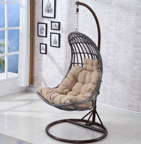 Bird Garden Iron Garden Swing Outdoor Hammock
