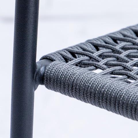 Black Rope Chair With Rope Patio Chair Biller & Fotoen