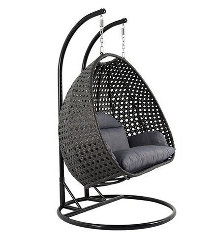 Garden Leisure Furniture For Cheap Outdoor Indoor Wicker Hanging Garden Swing Chair