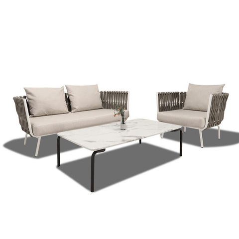 High End Patio Furniture China Supplier Garden Rope Latest Sofa Design Set foto & foto