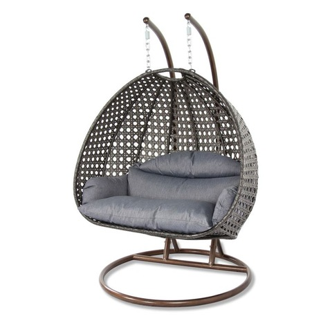 Iron Outdoor Furniture Hanging Swing Chair Outdoor Double Seater