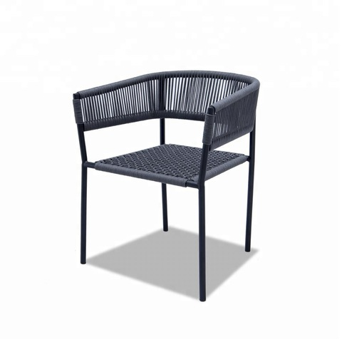 Leisure Outdoor Patio Furniture Rope Patio Chairs Garden Chair