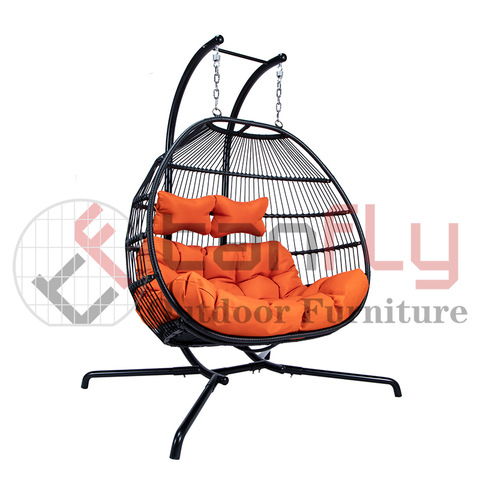 Modern tuinmeubilair Indoor Person Swing Chair 2