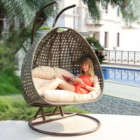 Perçeyên Serişteya Leşkerî ya Navxwe Wicker Swing Parts Outdoor