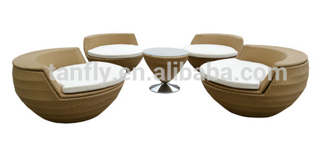 I-TF-9518 design yesimanje yesikhala esonga ifenisha estacket Rattan chair netafula