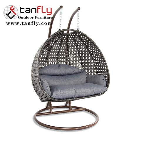 Groothandel goedkope indoor rieten hangende rieten stoelen voor slaapkamers