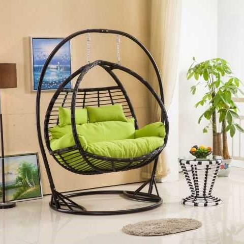 Wholesale Cheap Metal Rattan Garden Round Wicker Egg Shaped Wicker Chairs