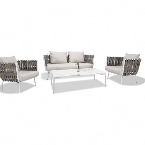 Groothandel Hotelmeubilair Fancy Rattan Sofa Goedkoop Outdoor Wicker Indoor Furniture