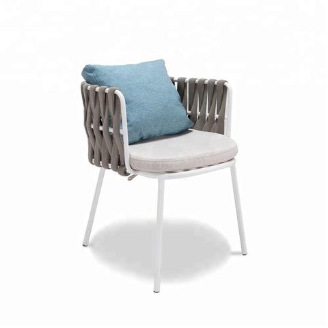เก้าอี้อาหารเชือกทอ