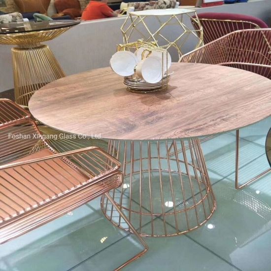 China Ceramic Glass for Outdoor Table Outdoor Furniture Glass Table pictures & photos