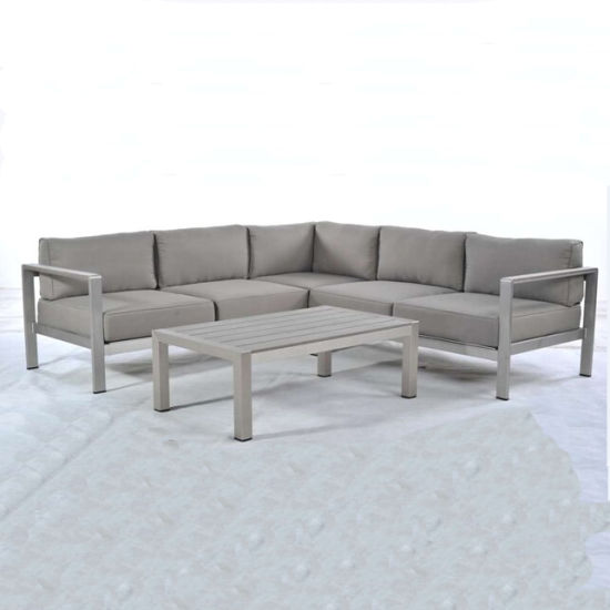 China Affordable Garden Sectional Sofa Outdoor Sofa Set pictures & photos