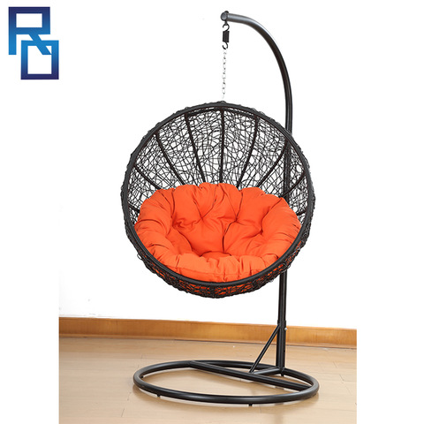 2018 Design Rattan Wicker Garden Furniture Swing Hanging Chair