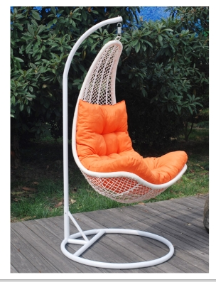 Dale hot sale Outdoor furniture garden white swing bed rattan outdoor one peason wicker cane swing h