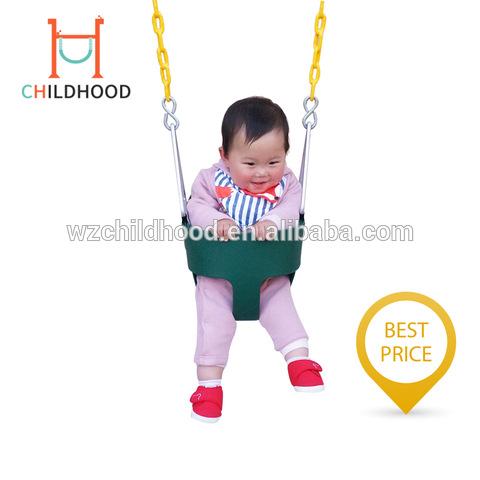Factory Hot Sales Eva Garden Kids Outdoor Swing Chair Baby Bucket