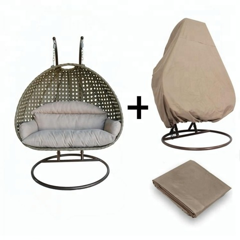 Home Casual Patio Furniture Outdoor Hanging Chair Rattan Rocking Swing Chair pictures & photos