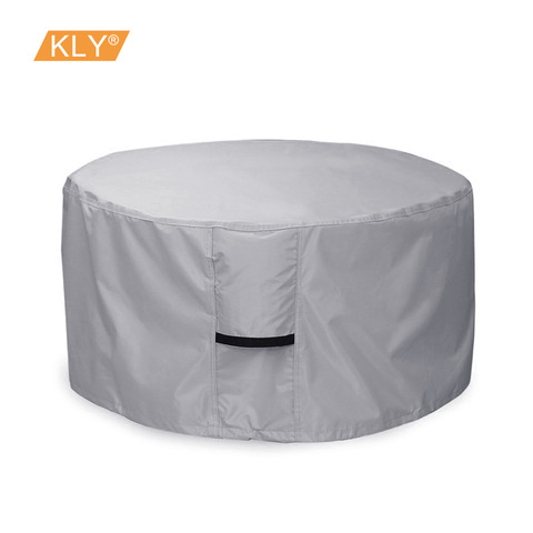 Patio Coffee Table Cover Waterproof Dustproof Cover for Outdoors Garden Cover