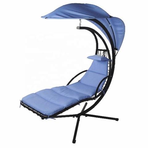 מרפסת ריהוט מרפסת לחופה נדנדות כיסא כסא תליה תלוי מיטת פטיו תלויה עם כרית