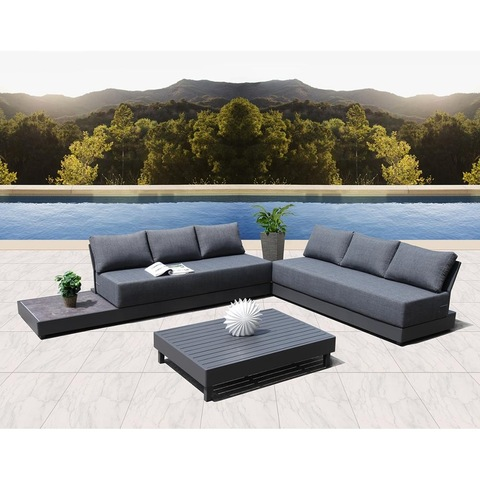 aluminum modern outdoor sofa outdoor furniture garden furniture set