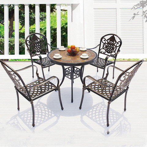 Hot Sale Garden Modern Outdoor Rustproof Terrace Furniture