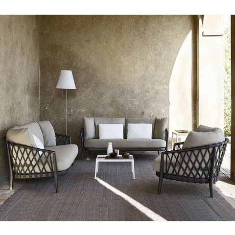 Hot sell High end luxury modern sectionals wicker rattan outdoor furniture pictures & photos