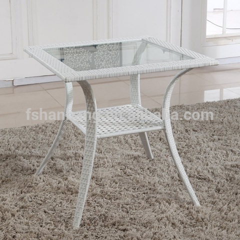 Indoor Outdoor Home Casual Patio White Resin Wicker Outdoor Furniture pictures & photos