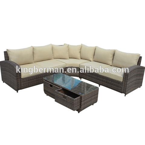 Latest Sofa Set Designs Rattan Sofa Used Patio Furniture