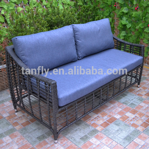 Outdoor patio furniture sofa set garden use PE rattan wicker sofa pictures & photos