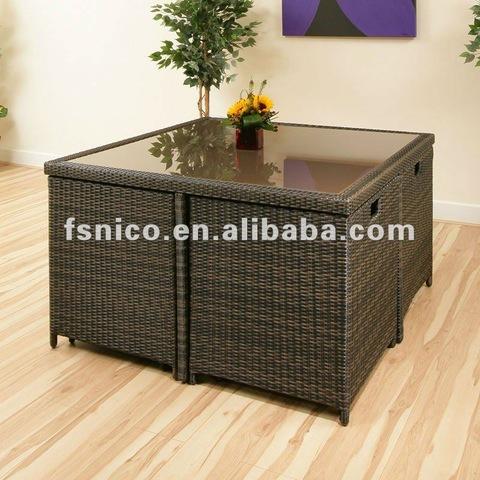 Rattan set outdoor furniture patio set