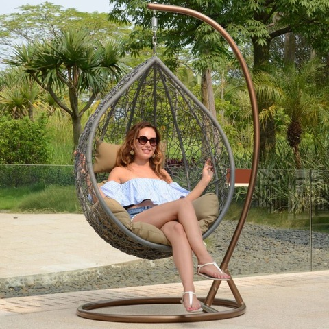 Garden Furniture Egg Shape Hammock Garden Swing Chair Alpha