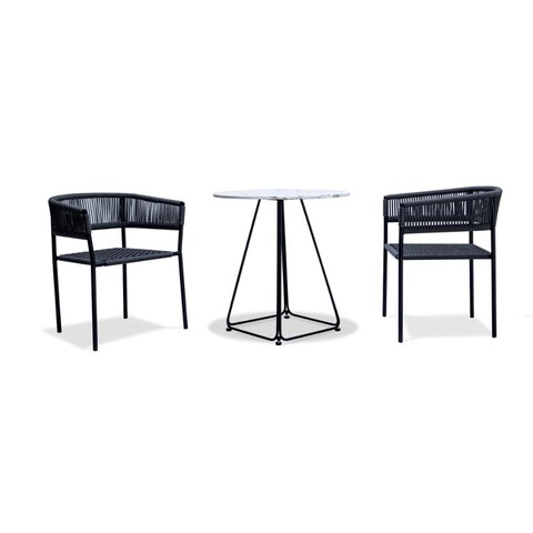 Garden outdoor hot sale chair and table in metal furniture