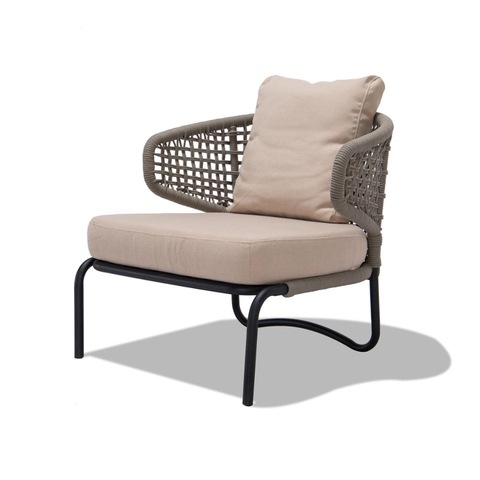 Patio rope chair furniture chair for garden