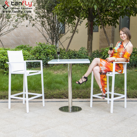 Groothandel Outdoor Patio Modern Bar Furniture Bar Table Chair Set
