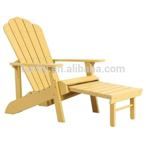 Wholesale furniture dropship outdoor wood plastic adirondack chair foldable pictures & photos