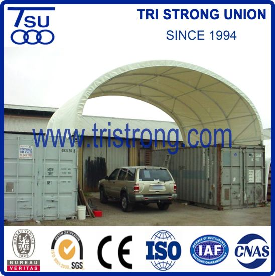 China 8m Wide Strong Container Canopy for 40′ Shipping Container