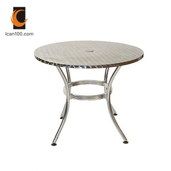 China American Standard Restaurant Furniture Leisure Metal Wedding Dining Home Table
