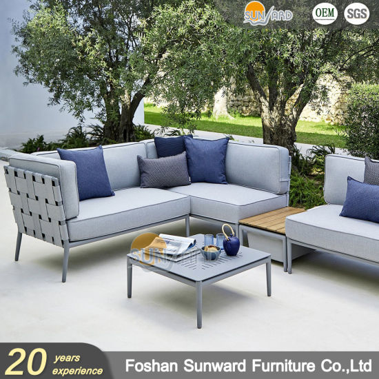 China Modern Garden Style Outdoor Leisure Rope Sofa Furniture