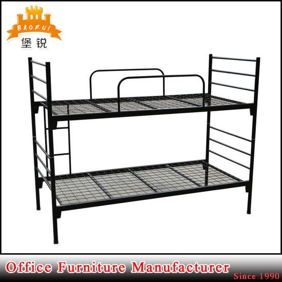 China Bedroom Furniture Strong Metal Frame Children Bunk Bed