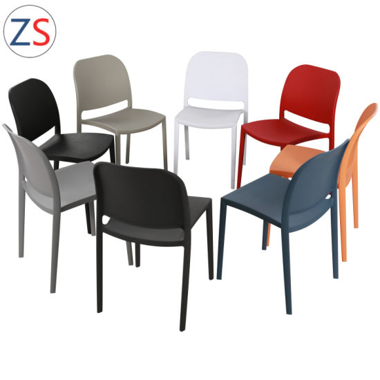 China Rona Plastic Stackable Chairs